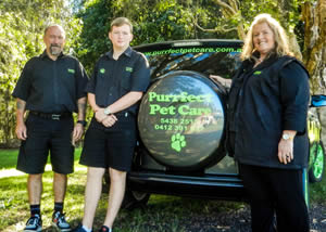 Purrfect Pet Care Team